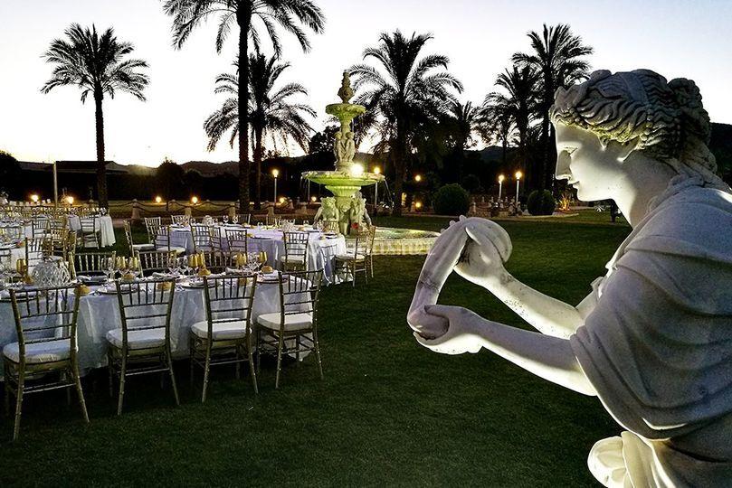 Esculturas noche
