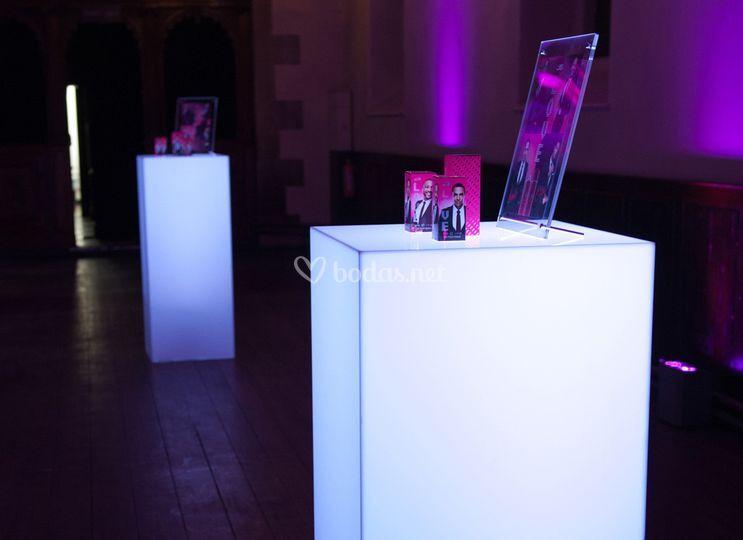 LED Plinths
