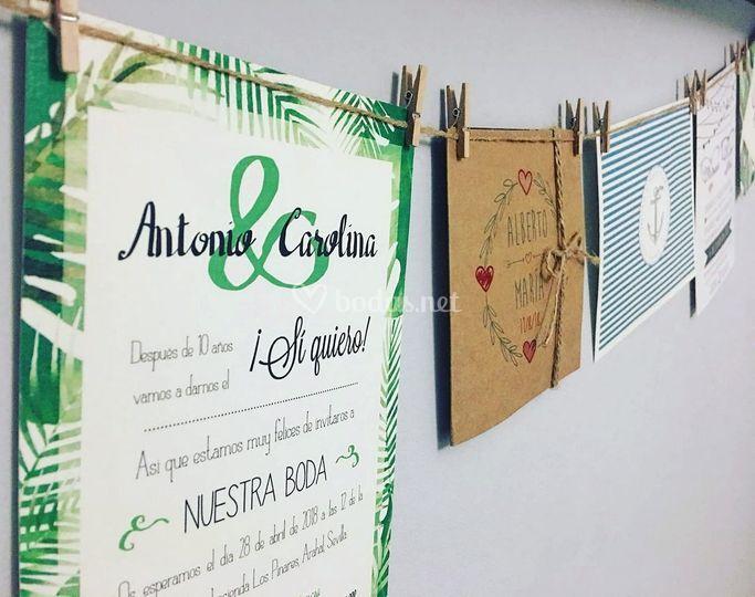 Invitaciones Wedding & Design