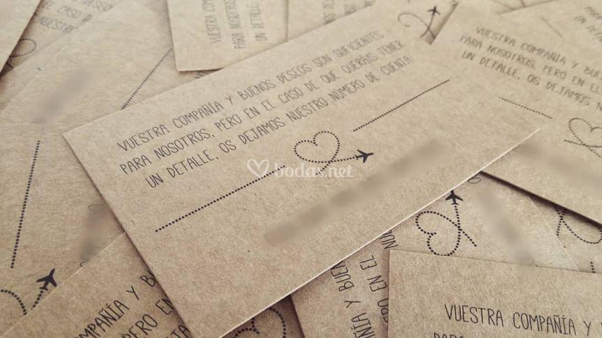 Tarjetas Amor Viajero