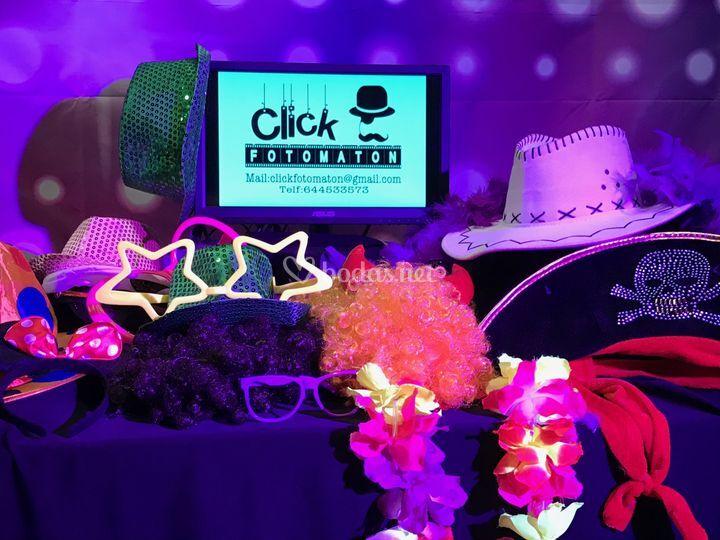 Diversión asegurada de Click Fotomaton