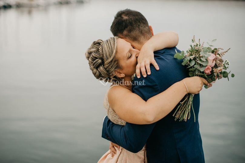 Fotógrafa de bodas Luanco