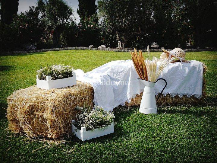 Decoración espacios bodas