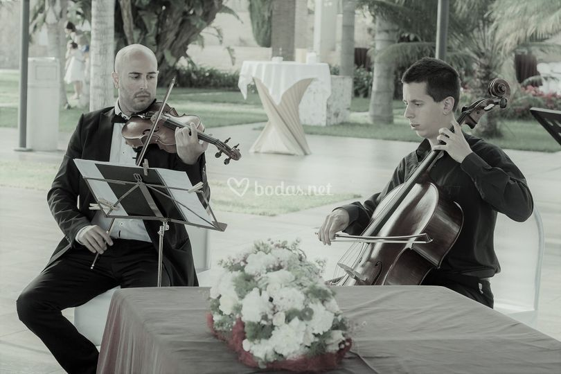 Ceremonia violín y cello