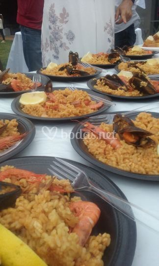 Evento paella
