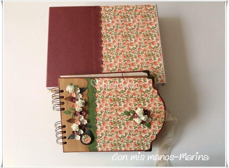 Album scrap + caja