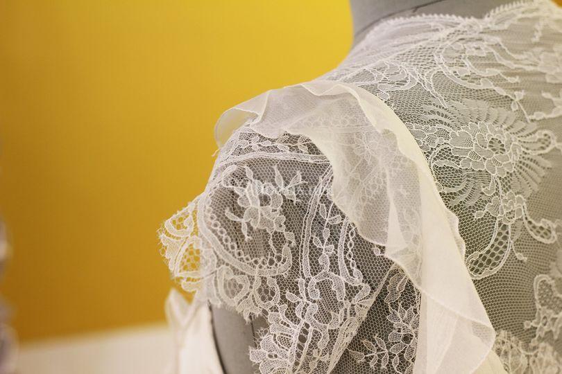 Detalle vestido V&L