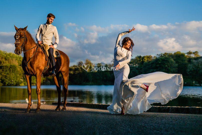 Danza y caballos