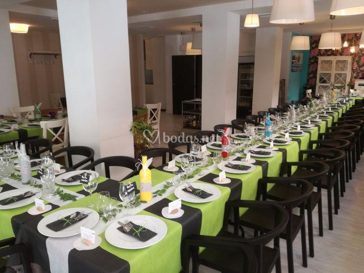 Lugar del banquete