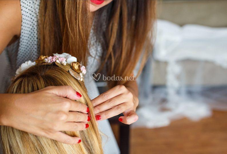 Detalles para el pelo