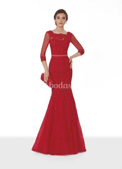 vestido corte sirena con manga de giancarlo novias | foto 2