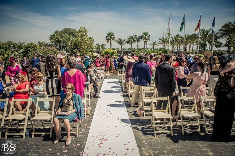 Ceremonia en Rota