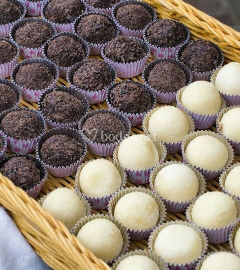 Chocolate negro y bayleis