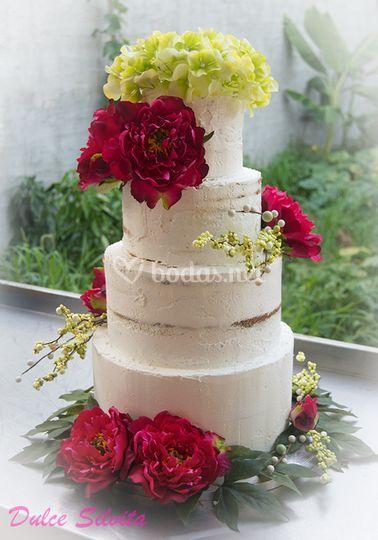 Tarta Semi Naked Cake