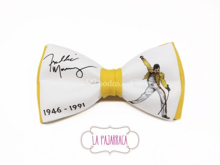 Pajarita Freddie Mercury