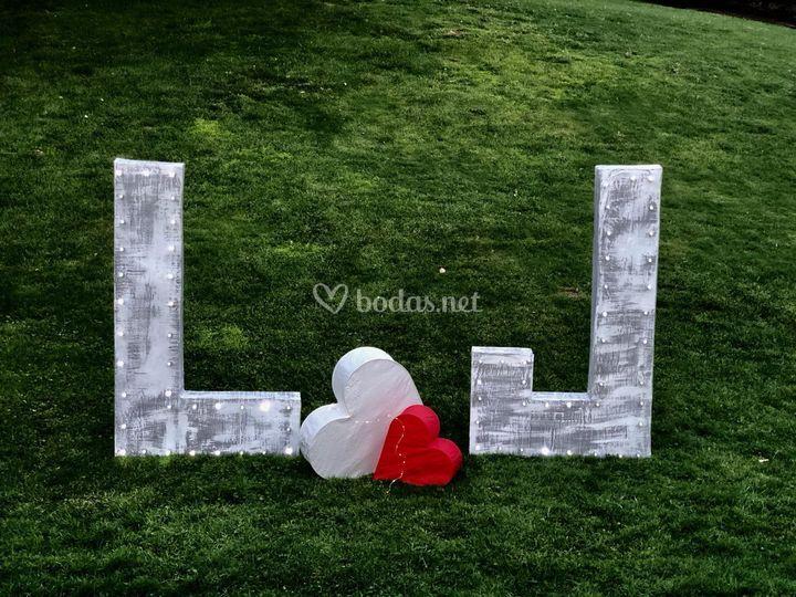 Letras biodegradables