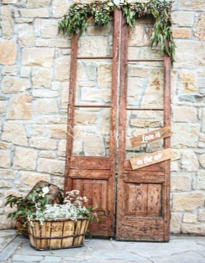 puertas antiguas decoradas