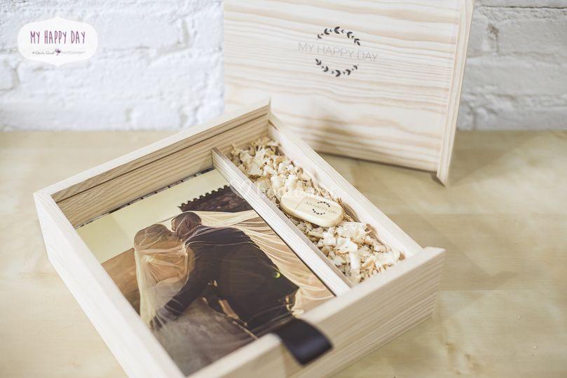 Wood Box - Pen