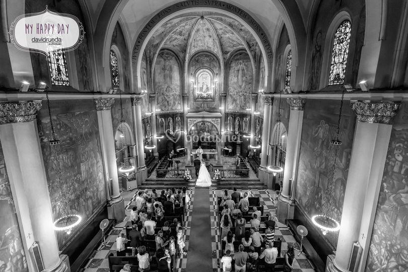 Ceremonia en iglesia E&R