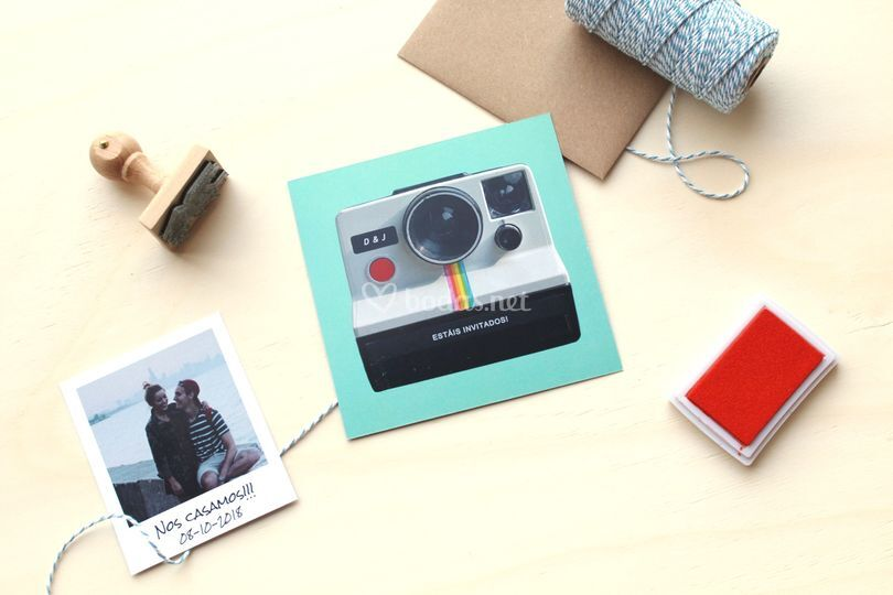 Invitaciones & pack - polaroid