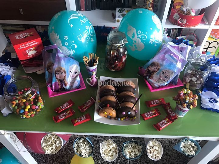 Candy bar Fiesta infantil