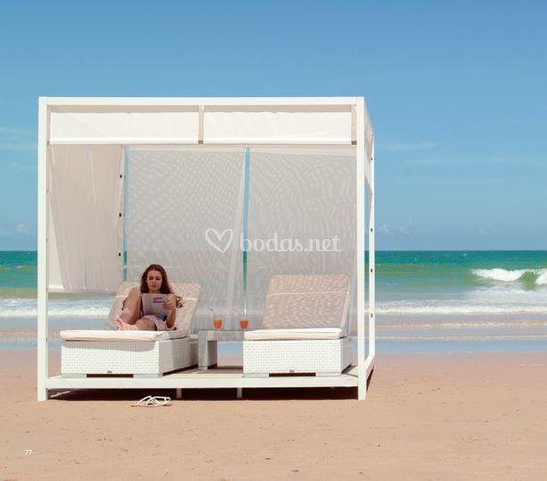 Mobiliario exterior, balinesas