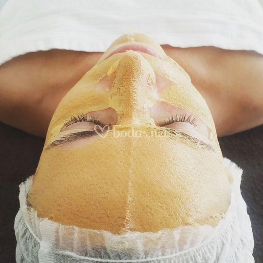 Tratamiento facial a domicilio