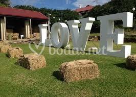 Love decoración