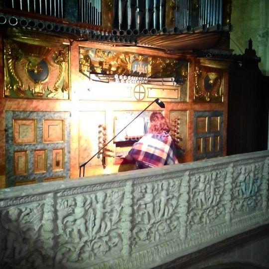 También organista desde 2014