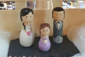 Territorio Handmade - Figuras para la tarta