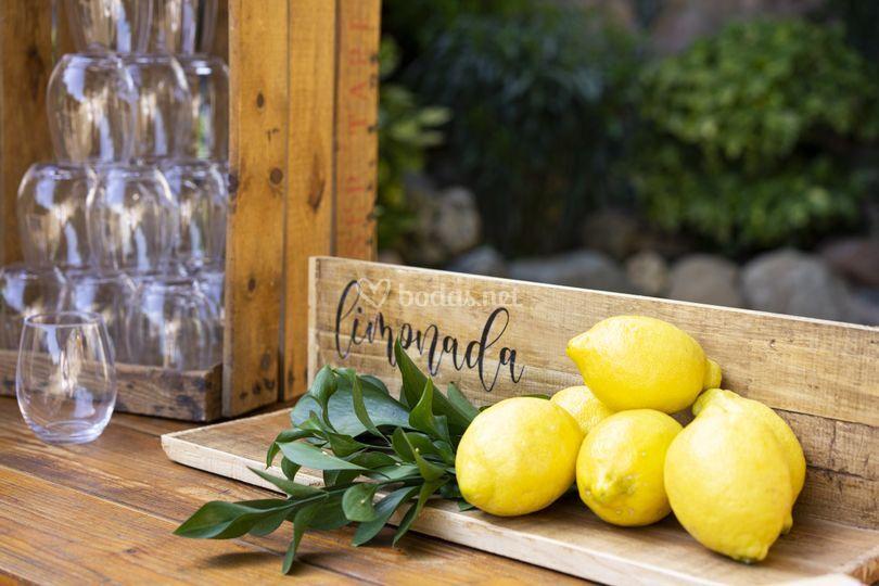 Cartel de limonada