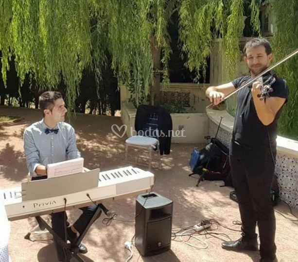 Dúo violín y piano