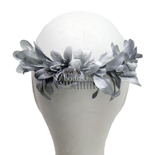 Corona de flores celinda