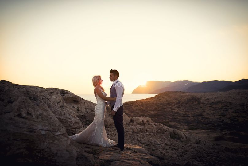 Fotografia de boda Calblanque
