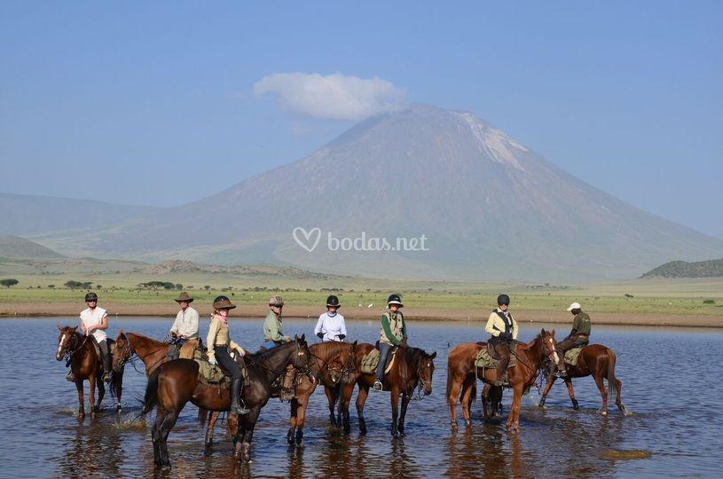 Tanzania a caballo
