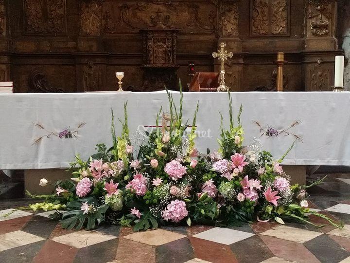 Centro altar en San Marcos