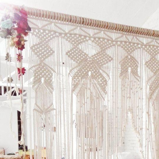 Decoración altar enlace