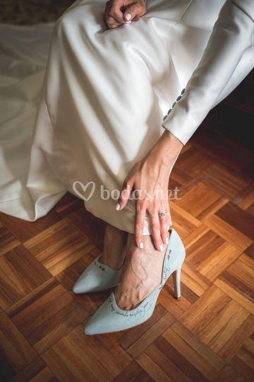 Zapatos con historia