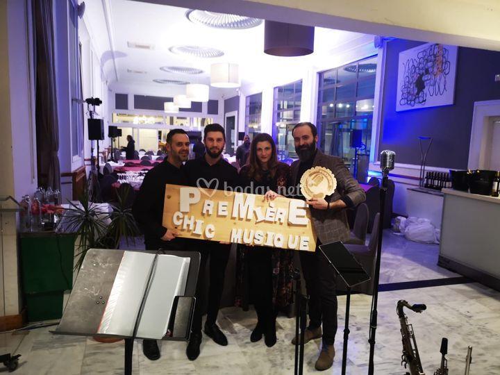 PChM Quartet en Sky Bar