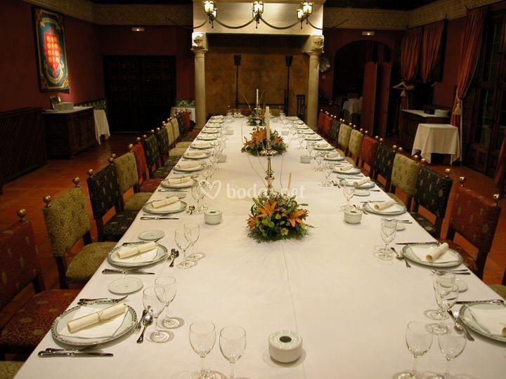Montaje mesa imperial
