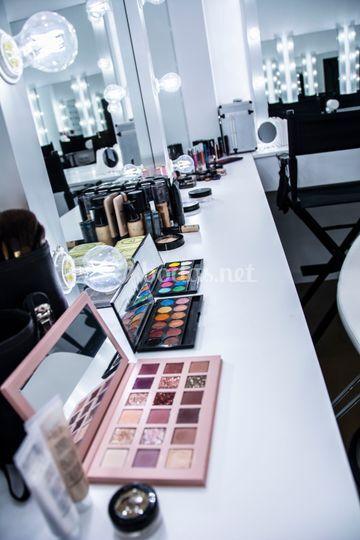 Cabina de Maquillaje