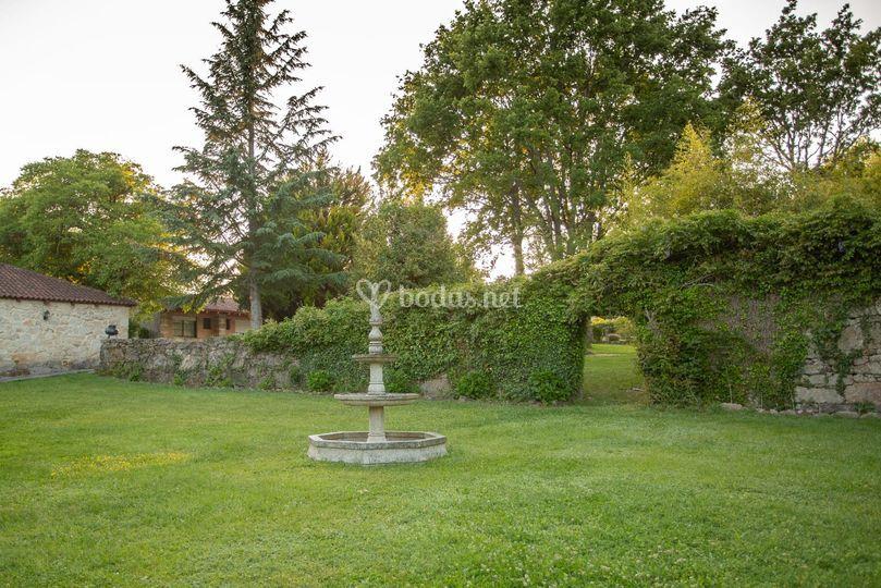 Jardín para ceremonias