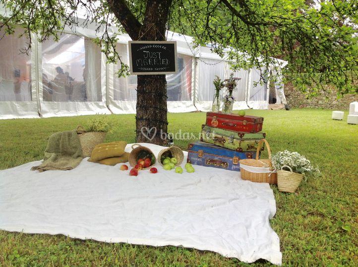 Rincón para picnic