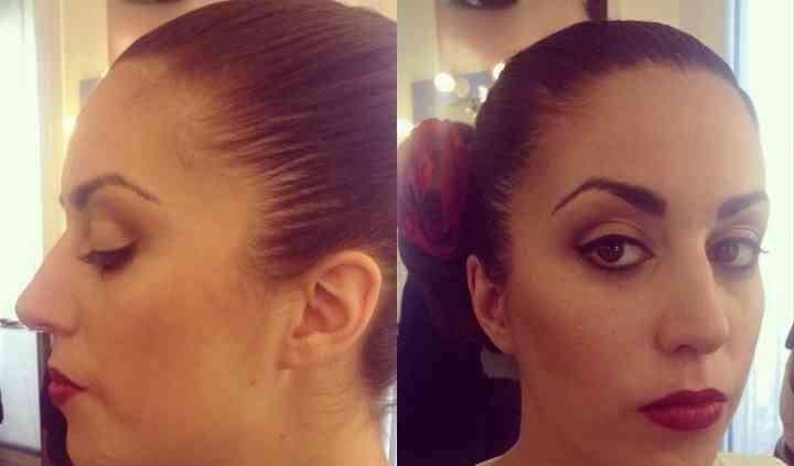 Maquillaje novia flamenca