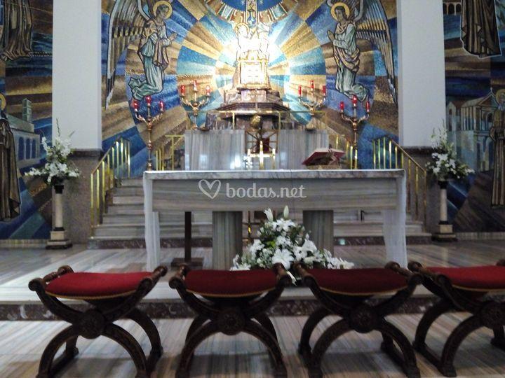 Decoración altar 2