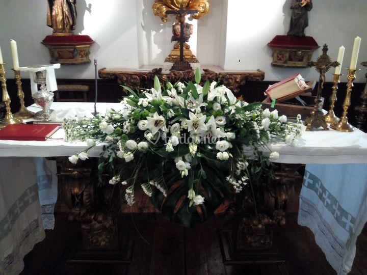 Almohadón altar