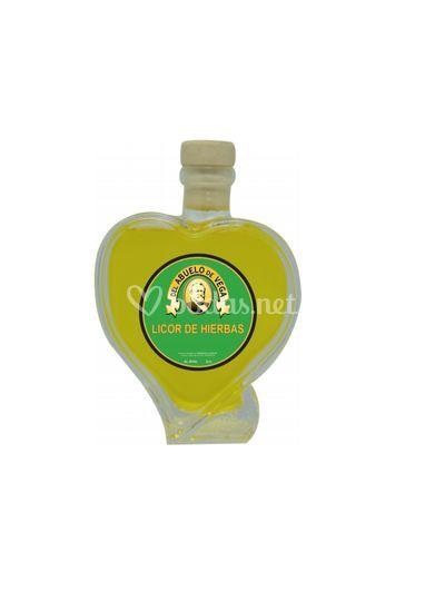 Botella corazón 100ml