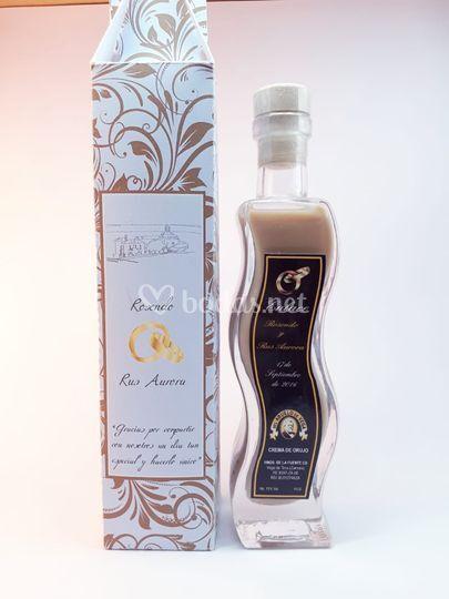 Botella ondulada 100ml+caja