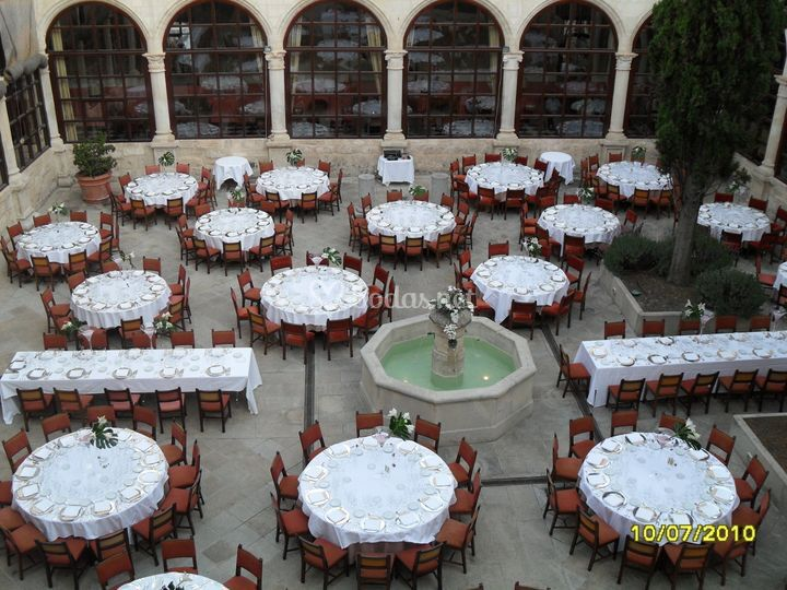 Patio del claustro