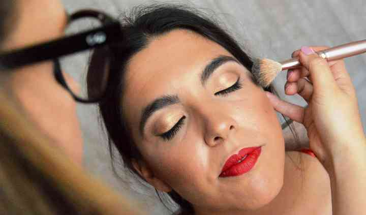 Maquillaje hermana novia